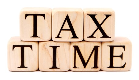 Wooden blocks tax time