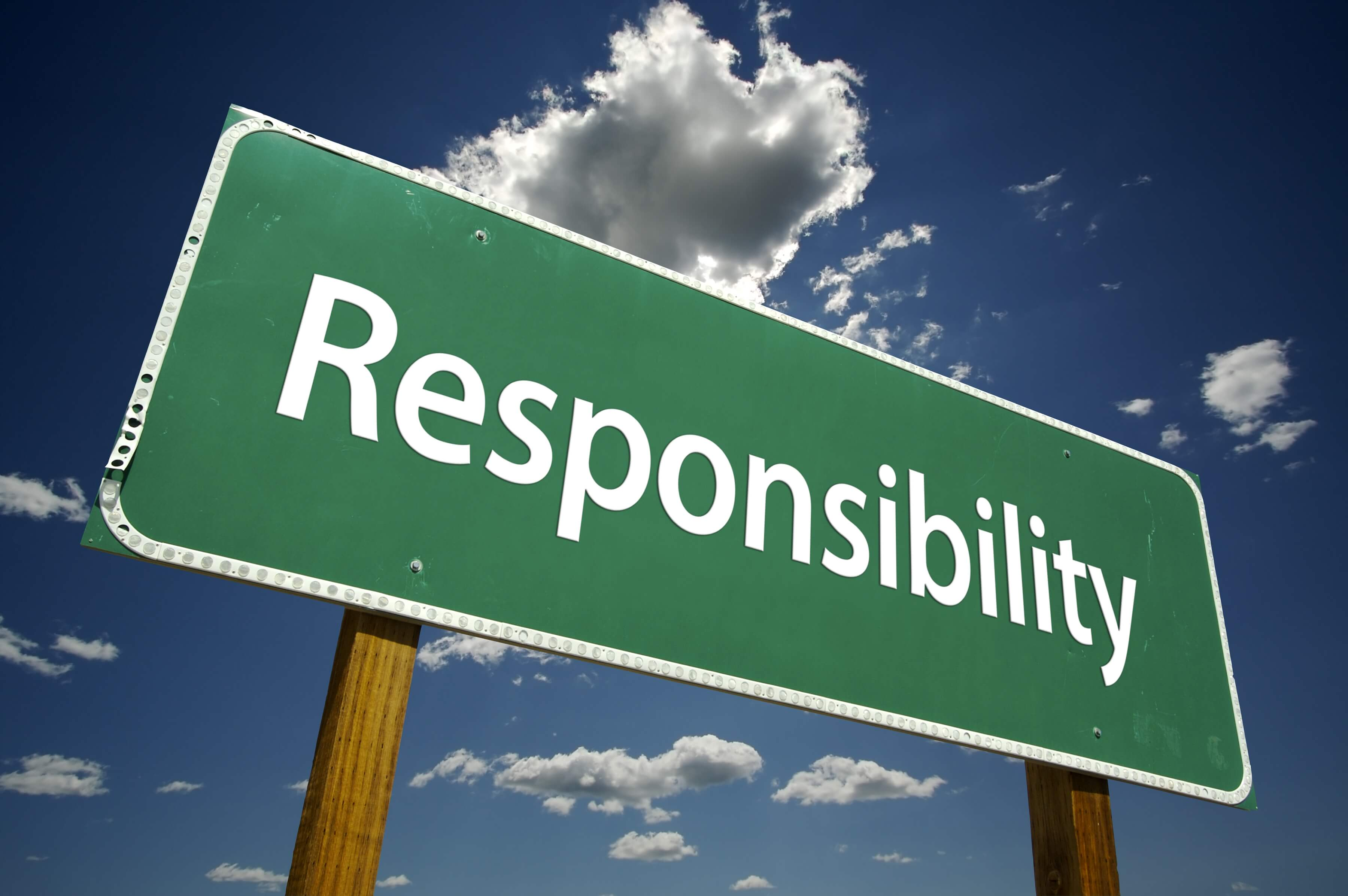 Responsibility billboard