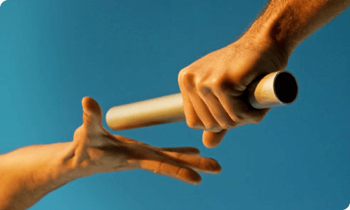 Passing the baton family business succession